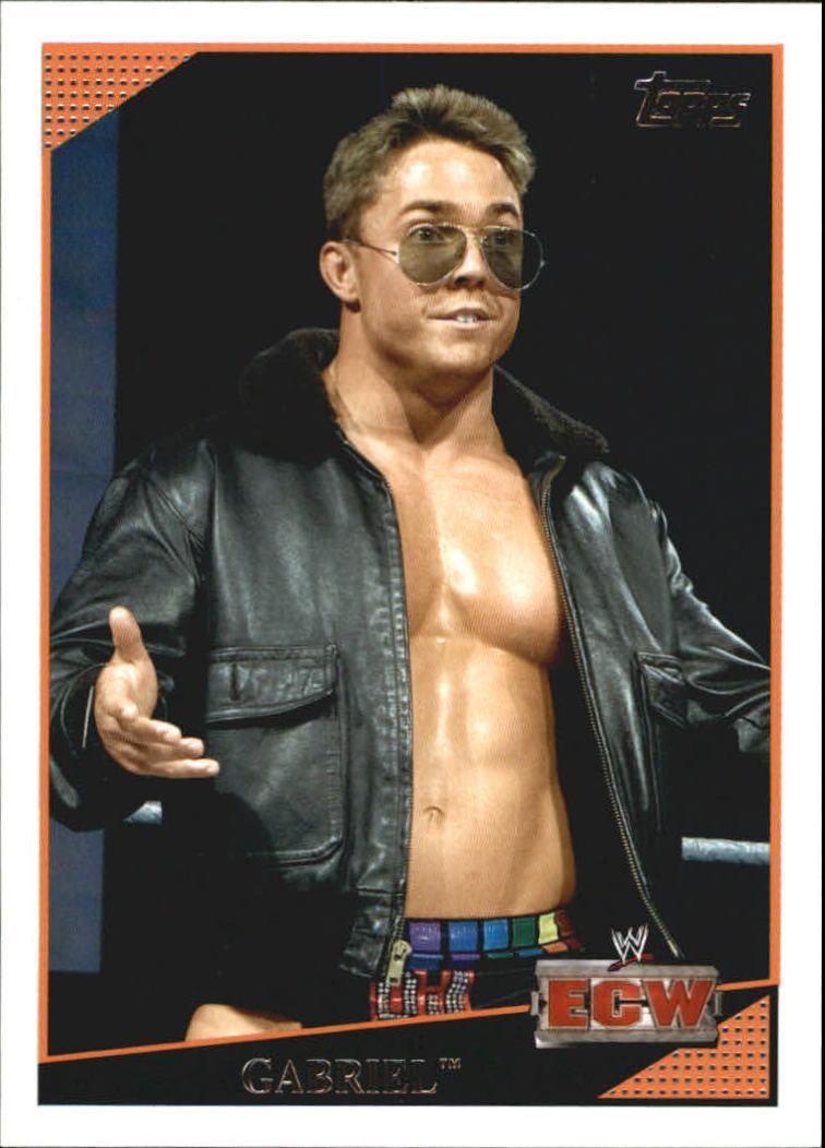2009 WWE (Topps) Gabriel (No.70)