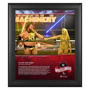 WrestleMania 36 Otis 15 x 17 Limited Edition Plaque