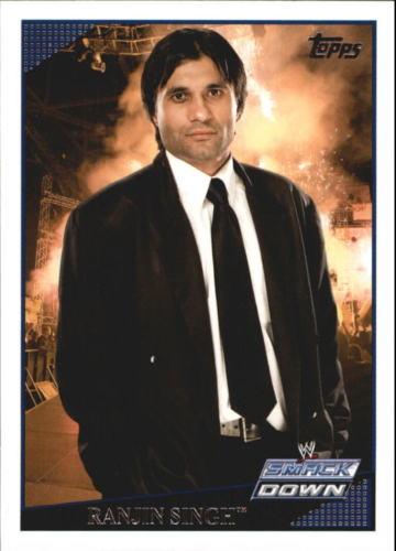 2009 WWE (Topps) Ranjin Singh (No.57)