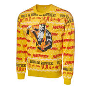 Hulk Hogan Light Up Ugly Holiday Sweatshirt 2019