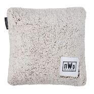 NWo Sherpa Throw Pillow