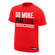 Nikki Bella Do More, Fear Less Youth Authentic T-Shirt