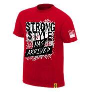 Shinsuke Nakamura Strong Style Has Arrived Authentic T-Shirt