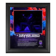 Undertaker Survivor Series 2020 15 x 17 Commemorative Plaque