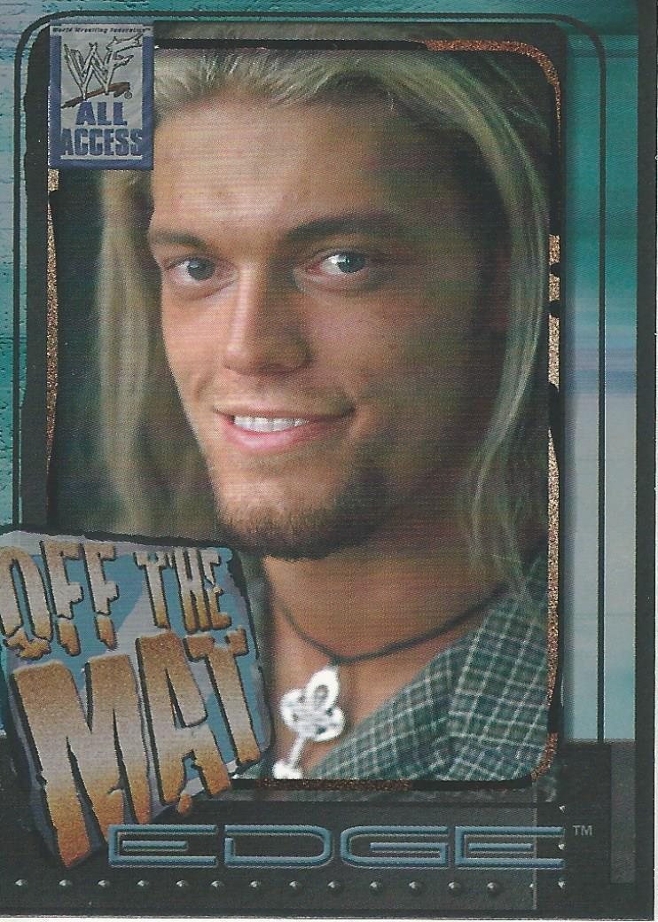 2002 WWF All Access (Fleer) Edge (No.58)