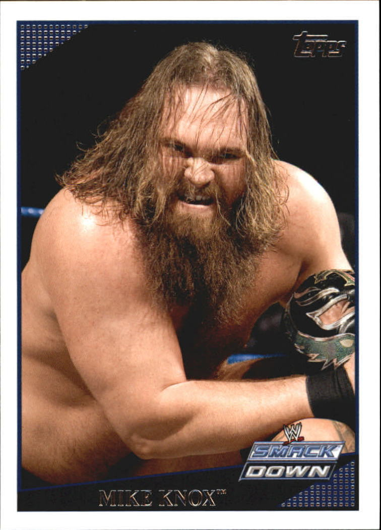 2009 WWE (Topps) Mike Knox (No.33)