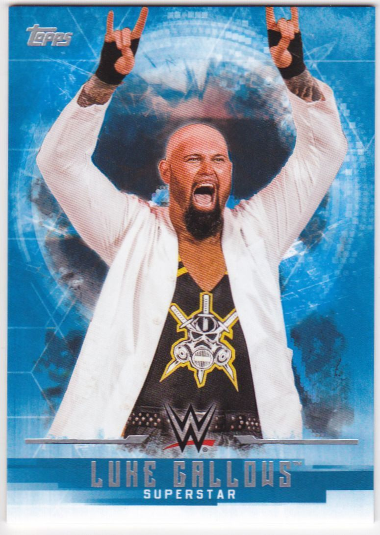 2017 WWE Undisputed Wrestling Cards (Topps) Luke Gallows (No.22)