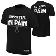 Authors of Pain It is Written in Pain Authentic T-Shirt