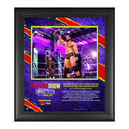 Drew McIntyre The Horror Show At Extreme Rules 2020 15x17 Commemorative Limited Edition Plaque