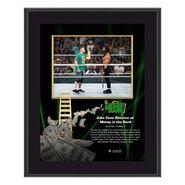 John Cena & Roman Reigns Money In The Bank 10x13 Commemorative Plaque