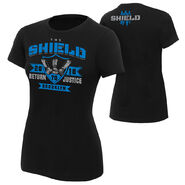 The Shield Return to Justice Brooklyn Special Edition Women's T-Shirt