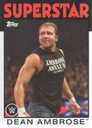 2016 WWE Heritage Wrestling Cards (Topps) Dean Ambrose 12