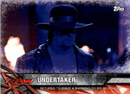 2017 WWE Road to WrestleMania Trading Cards (Topps) Undertaker 34