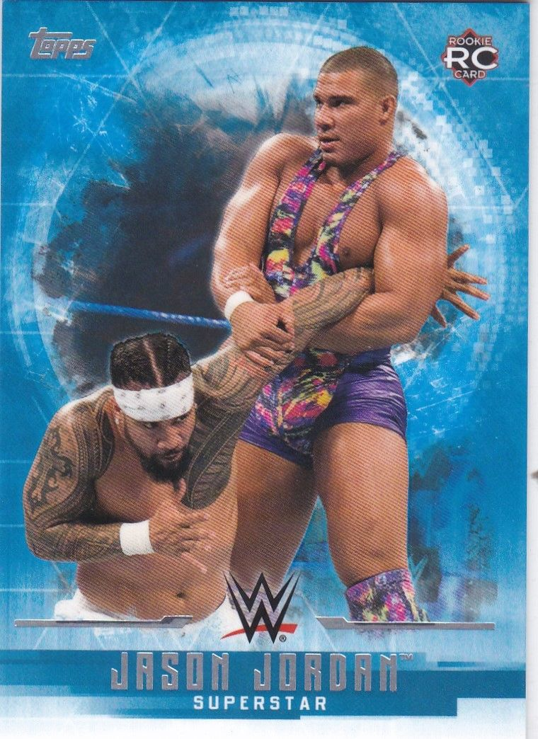 2017 WWE Undisputed Wrestling Cards (Topps) Jason Jordan (No.17)