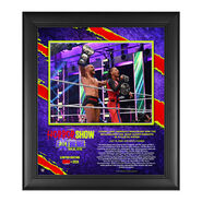 Cesaro & Shinsuke Nakamura The Horror Show At Extreme Rules 2020 15x17 Commemorative Limited Edition Plaque