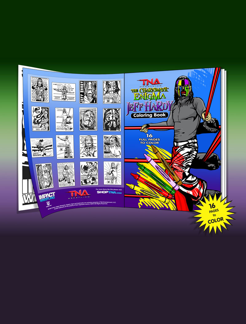 Jeff Hardy Coloring Book