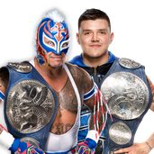 Rey Mysterio & Dominik Mysterio SD Tag Champs