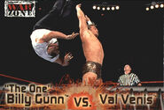 2001 WWF RAW Is War (Fleer) Billy Gunn vs. Val Venis 52