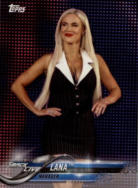 2018 WWE Wrestling Cards (Topps) Lana (No.51)