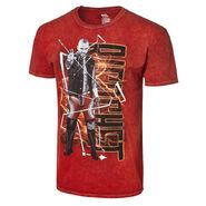 Ricochet Superheroes R Real Mineral Wash T-Shirt