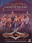 Royal Rumble 2001 Poster