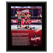 WrestleMania 36 Drew McIntyre 10 x 13 Limited Edition Plaque