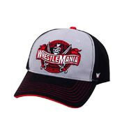 WrestleMania 37 Black & Grey Baseball Hat