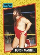 1991 WCW (Impel) Dutch Mantell 80