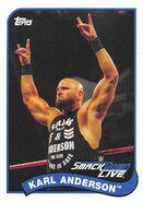 2018 WWE Heritage Wrestling Cards (Topps) Karl Anderson 39