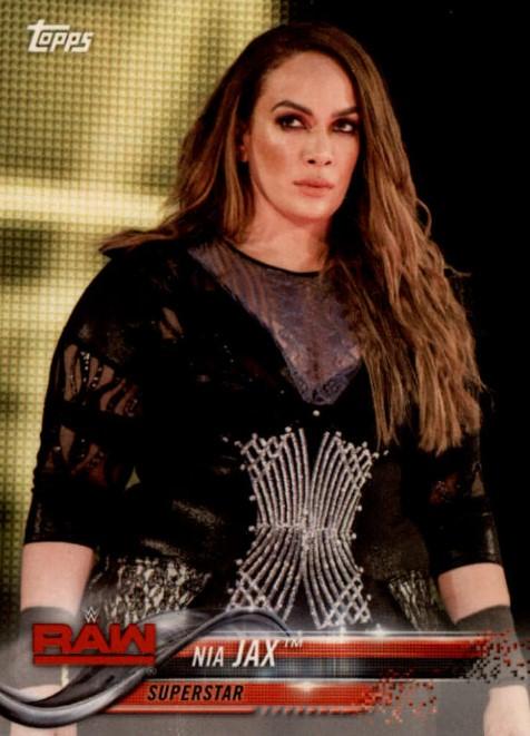 2018 WWE Wrestling Cards (Topps) Nia Jax (No.68)