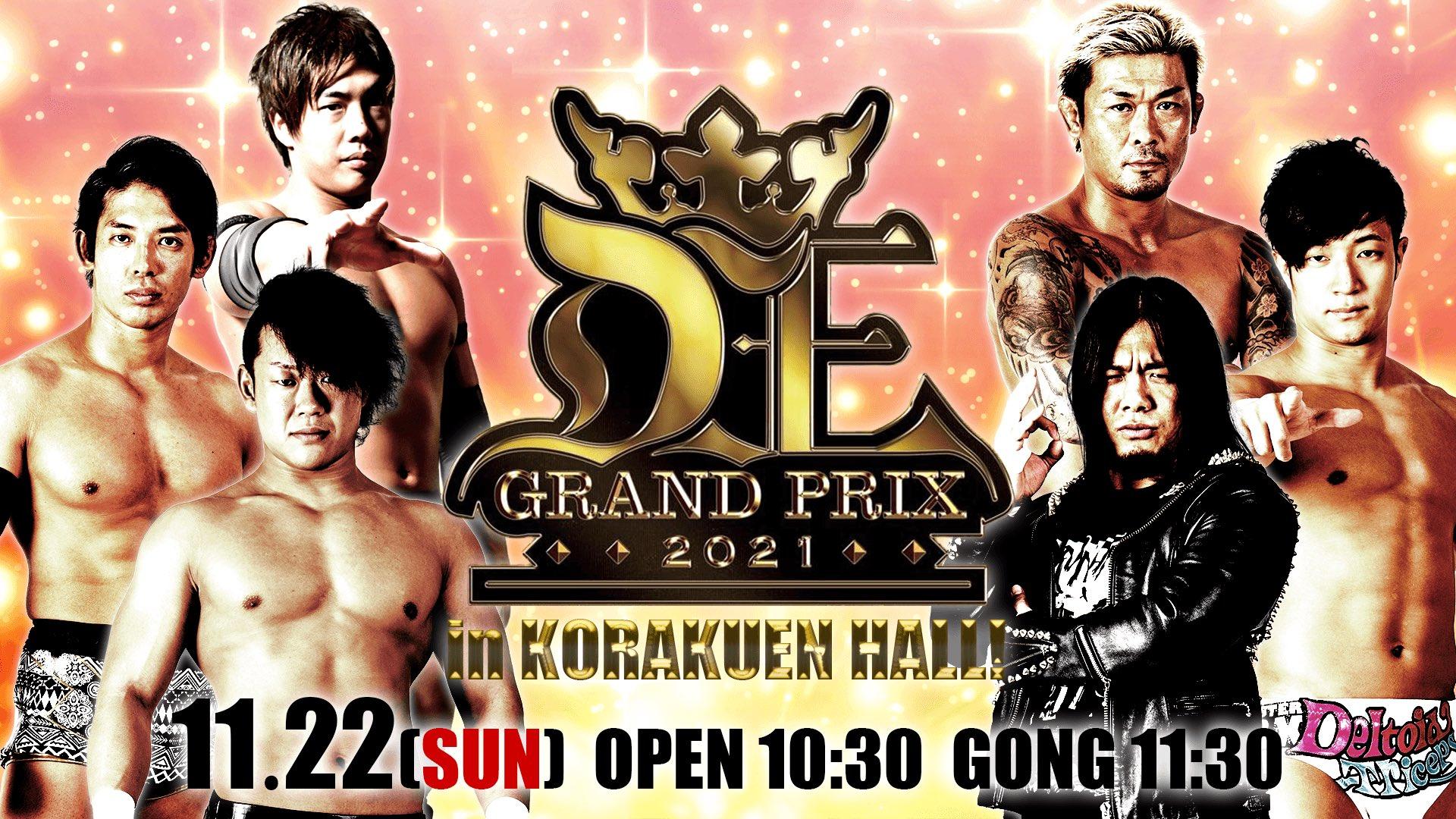 DDT D-Ou Grand Prix 2021 In Korakuen Hall