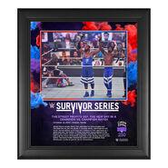 Street Profits Survivor Series 2020 15 x 17 Commemorative Plaque