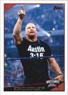 2009 WWE (Topps) Stone Cold Steve Austin 89