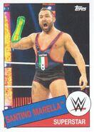 2015 WWE Heritage Wrestling Cards (Topps) Santino Marella 91