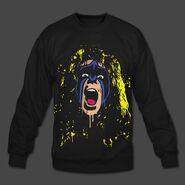 Ultimate Warrior Crash The Plane Sweatshirt