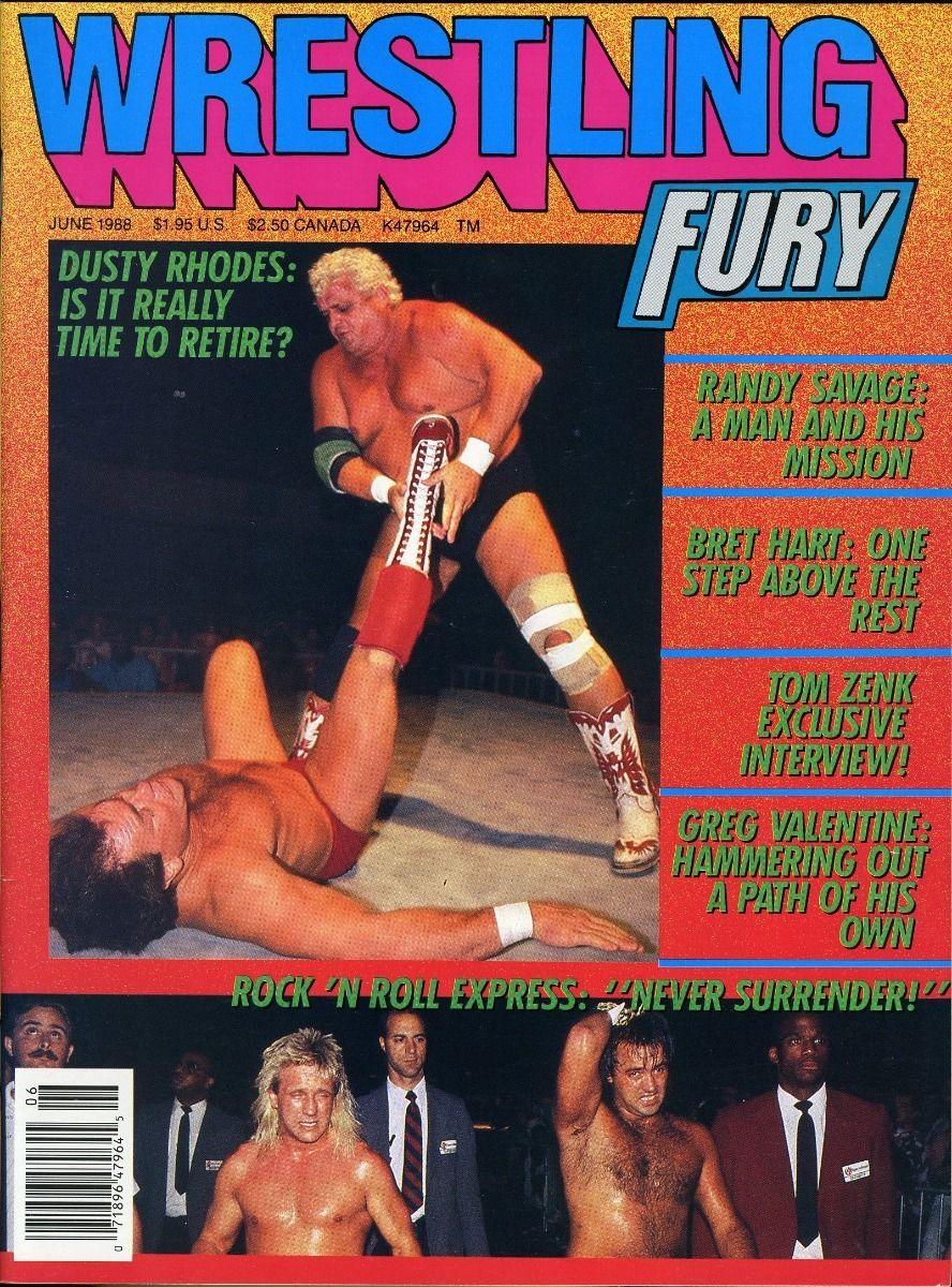 Wrestling Fury - June 1988