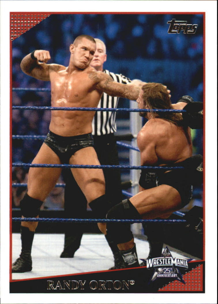 2009 WWE (Topps) Randy Orton (No.87)