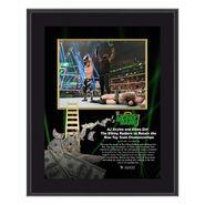 AJ Styles & Omos Money In The Bank 10x13 Commemorative Plaque