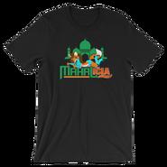 Jinder Mahal & Alicia Fox MMC Mahalicia Logo Unisex T-Shirt