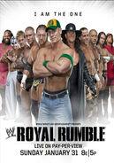 Royal Rumble 2010 Poster