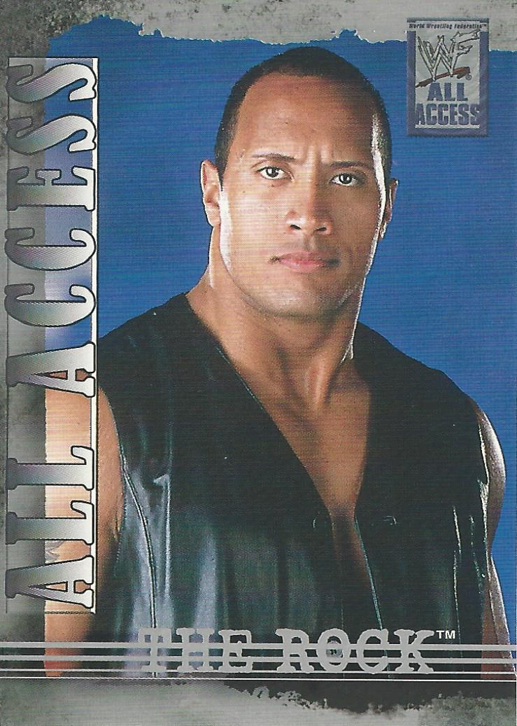 2002 WWF All Access (Fleer) The Rock (No.16)