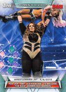 2019 WWE Women's Division (Topps) Nia Jax 68