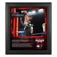 AJ Styles & Omos WrestleMania 37 15x17 Commemorative Plaque