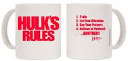 Hulk Hogan Hulk's Rules Mug