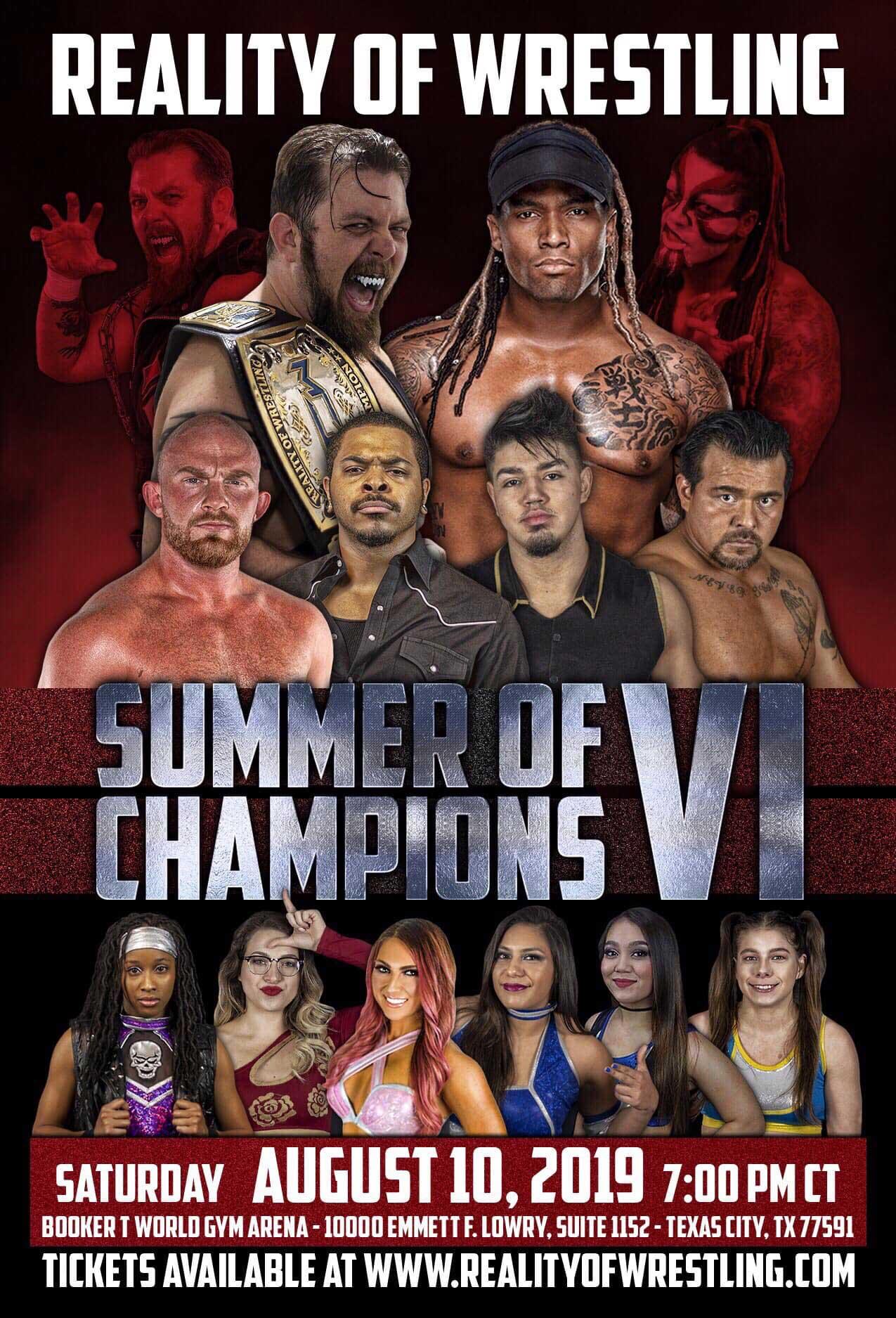 ROW Summer Of Champions VI
