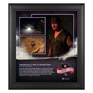 WrestleMania 36 Undertaker 15 x 17 Limited Edition Plaque