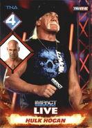 2013 TNA Impact Wrestling Live Trading Cards (Tristar) Hulk Hogan 50