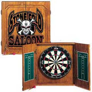 Stone Cold Saloon Dart Board