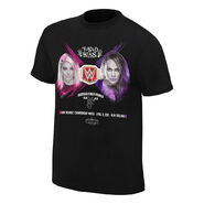 WrestleMania 34 Alexa Bliss vs. Nia Jax Match T-Shirt