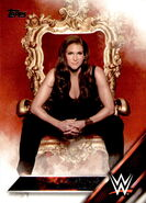 2016 WWE (Topps) Then, Now, Forever Stephanie McMahon 146
